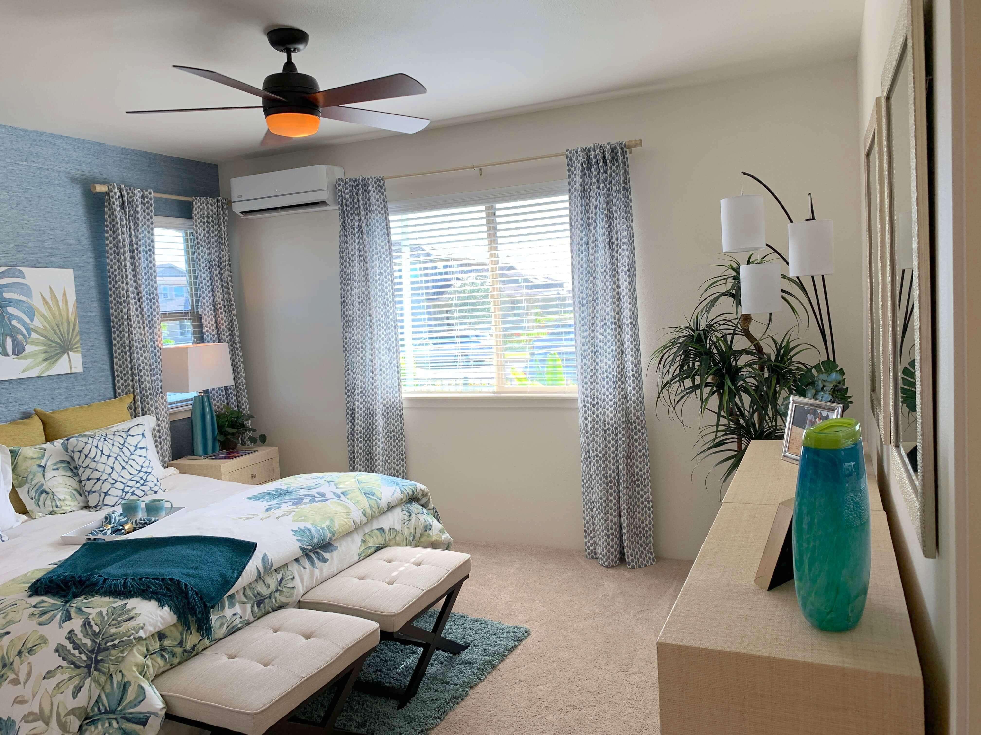 kohina at ho'opili master bedroom