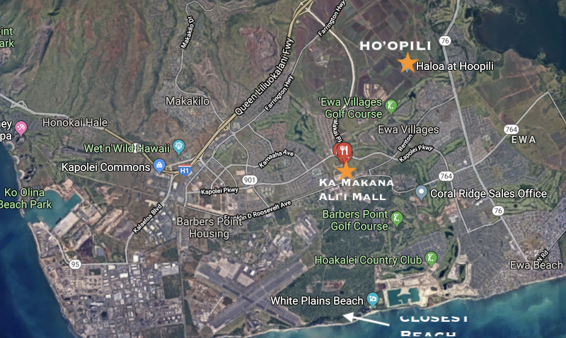 ho'opili neighborhood map
