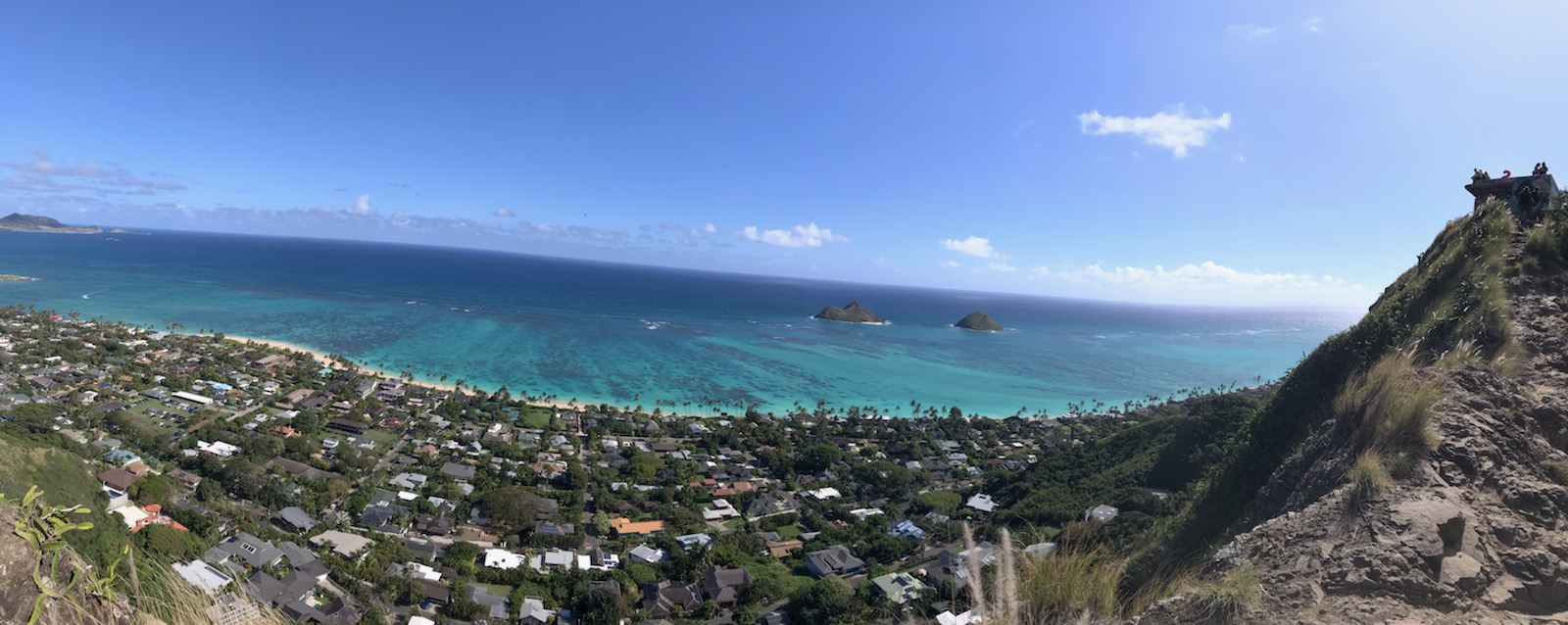 lanikai pillbox hike in kailua, hi