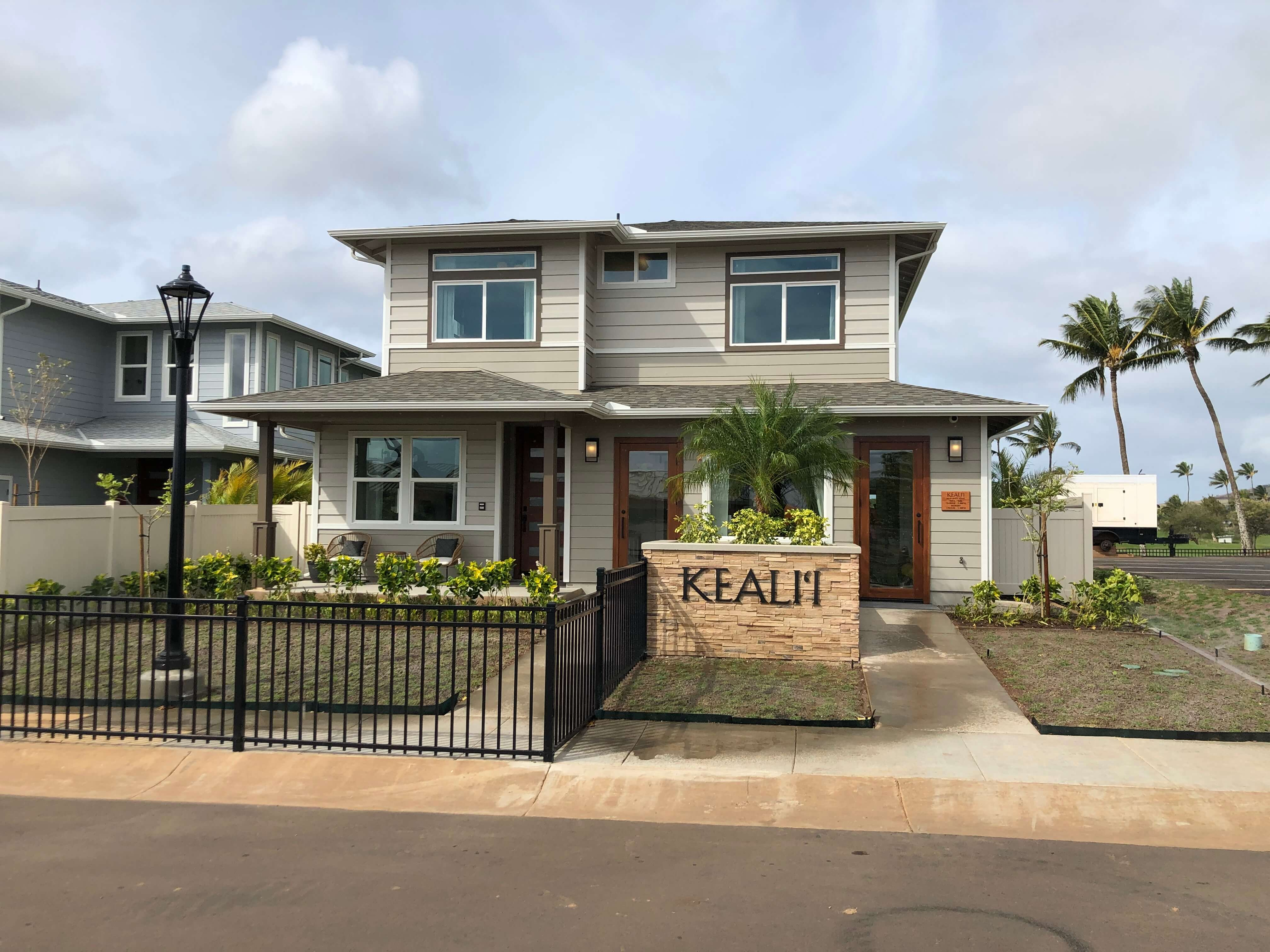 kealii by gentry model home