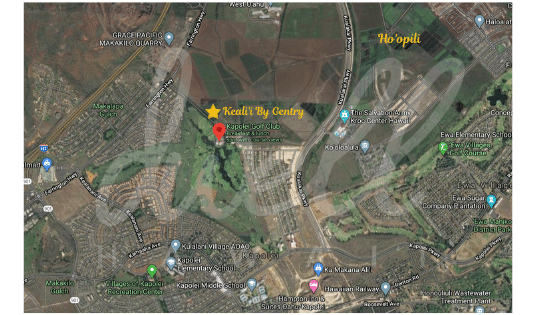 kealii by gentry neighborhood map