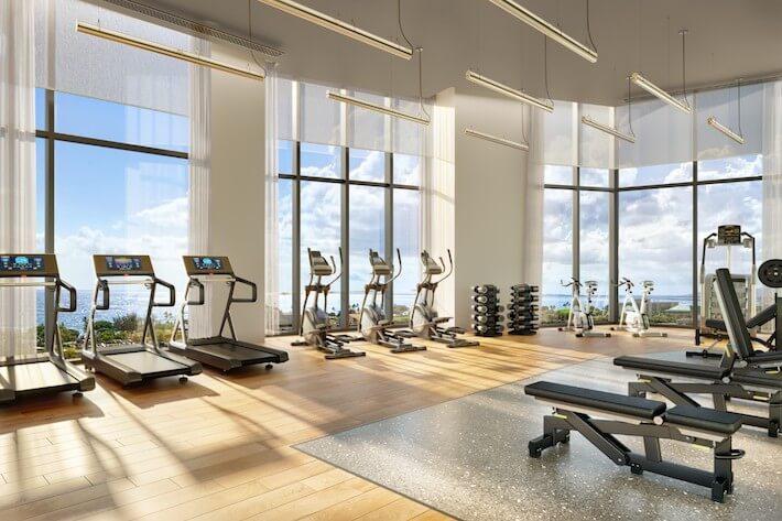 koula ward village fitness center