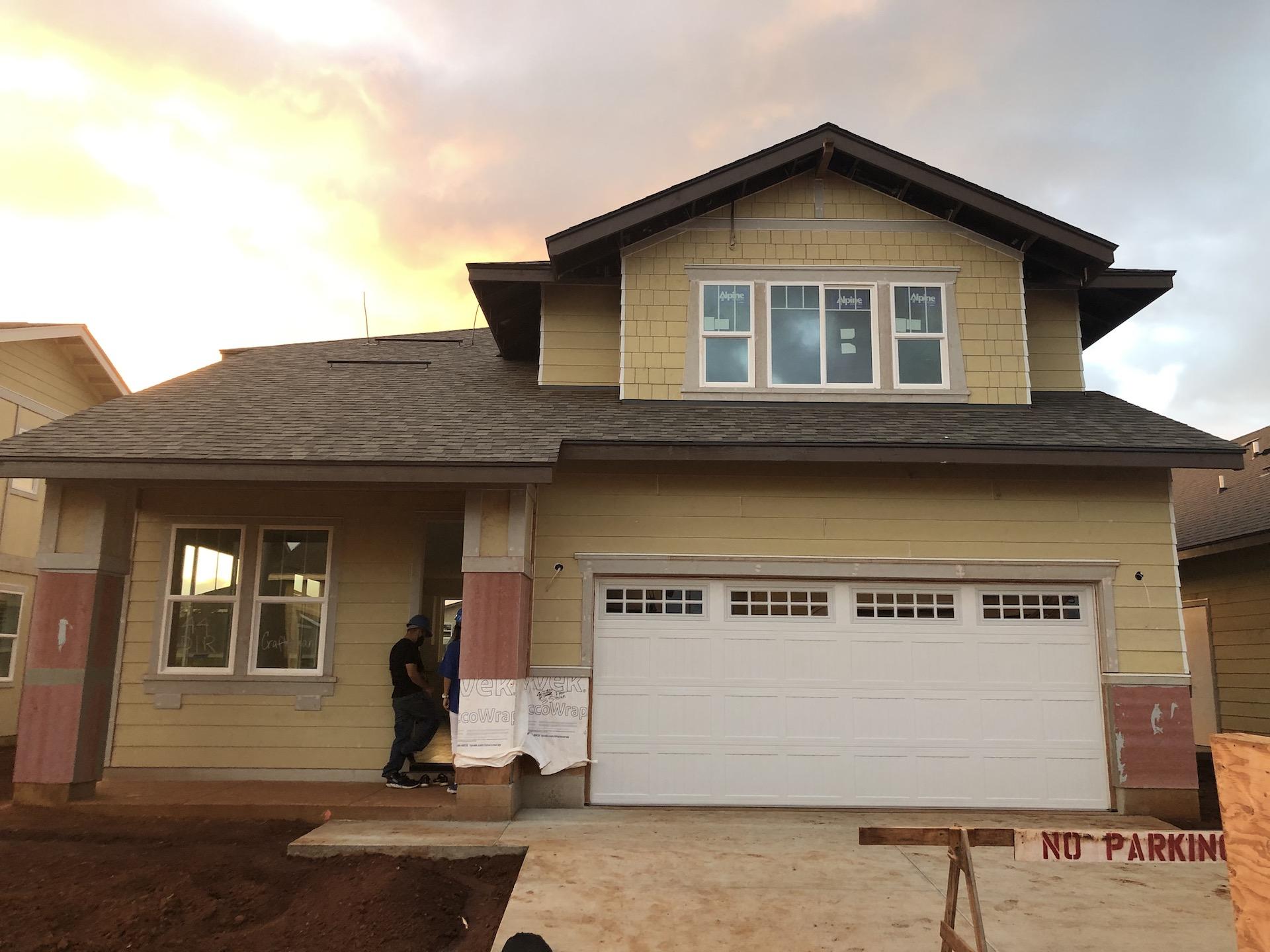 koa ridge homes construction
