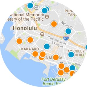 Waihonua Real Estate Map Search