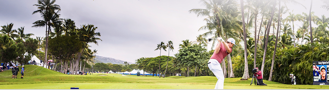 sony open in kahala oahu, hawaii