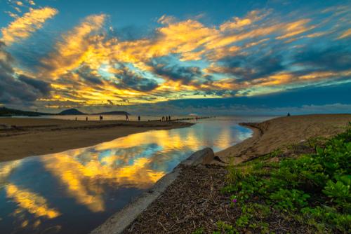 waialae beach oahu, hawaii