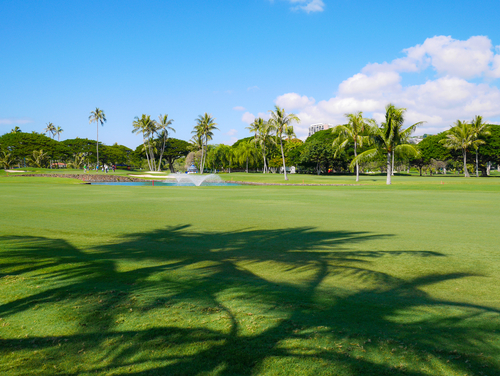 waialae golf course in kahala
