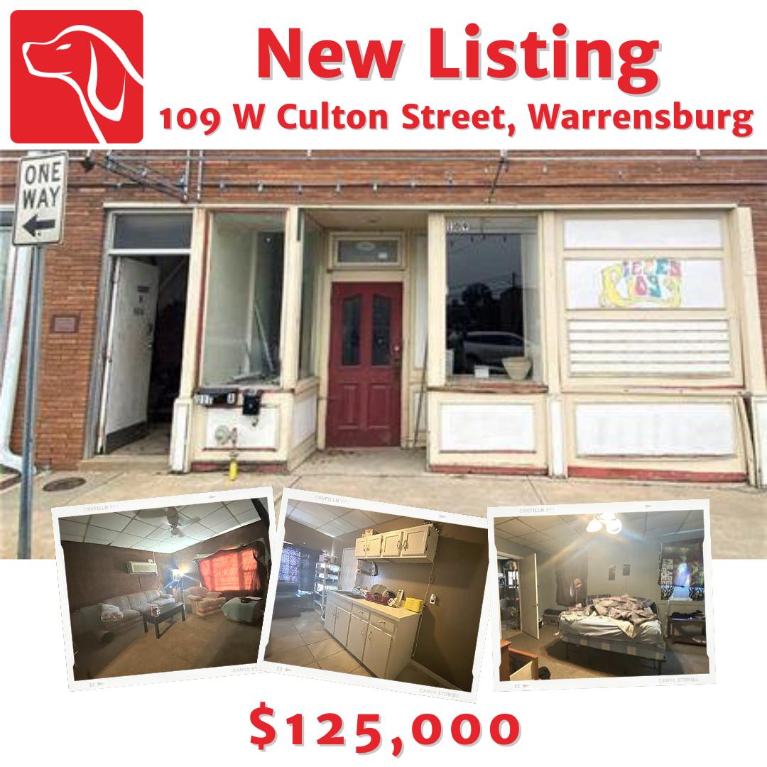 109 W Culton Street, Warrensburg, MO 64093