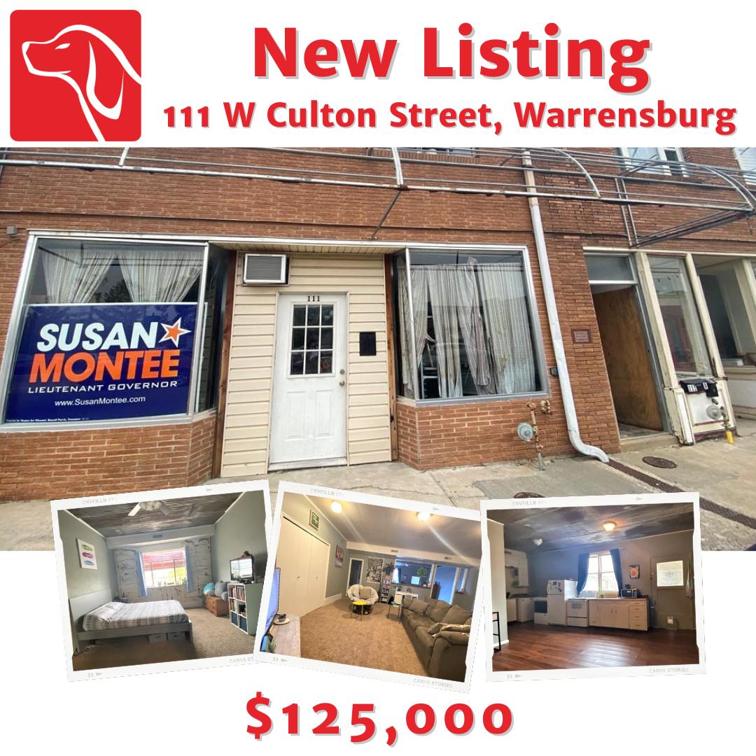 111 W Culton Street, Warrensburg, MO 64093