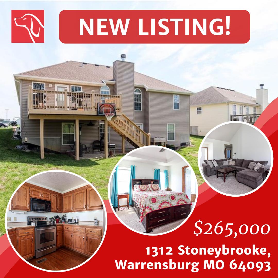 1312 Stoneybrooke, Warrensburg MO 64093