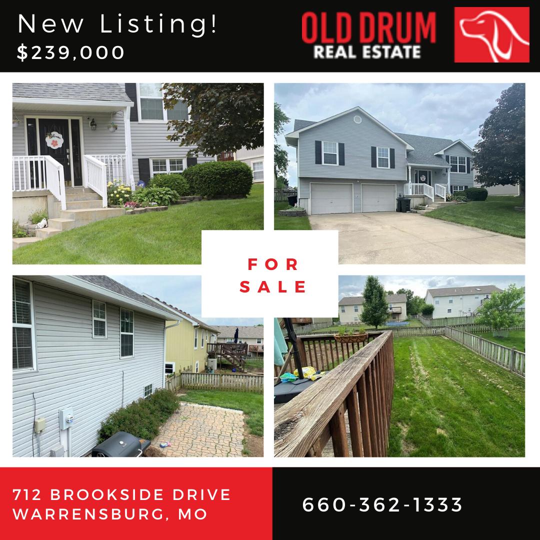 712 Brookside Drive, Warrensburg, MO 64093