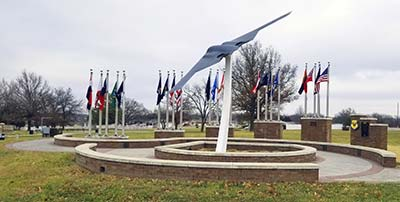 whiteman afb enduring freedom monument