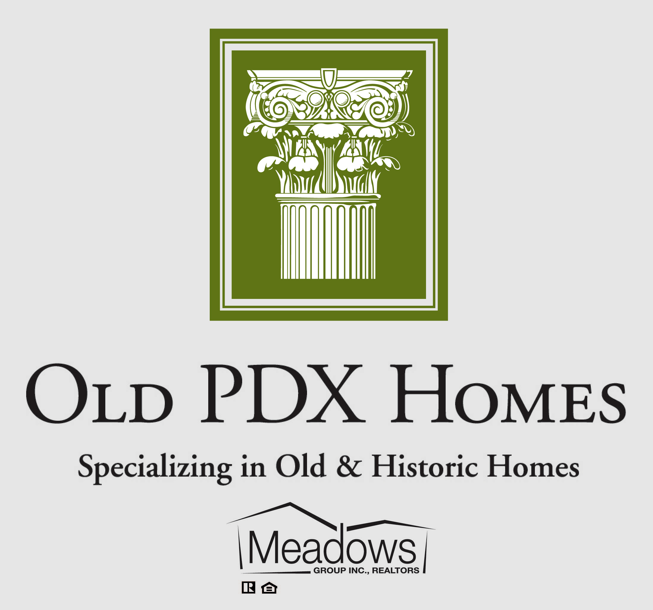 Old PDX Homes Logo Meadows Group Logo