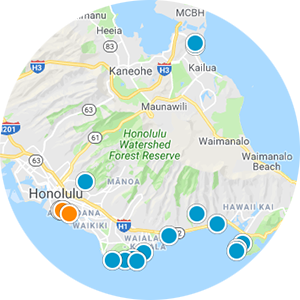 Hawaii Loa Ridge Real Estate Map Search