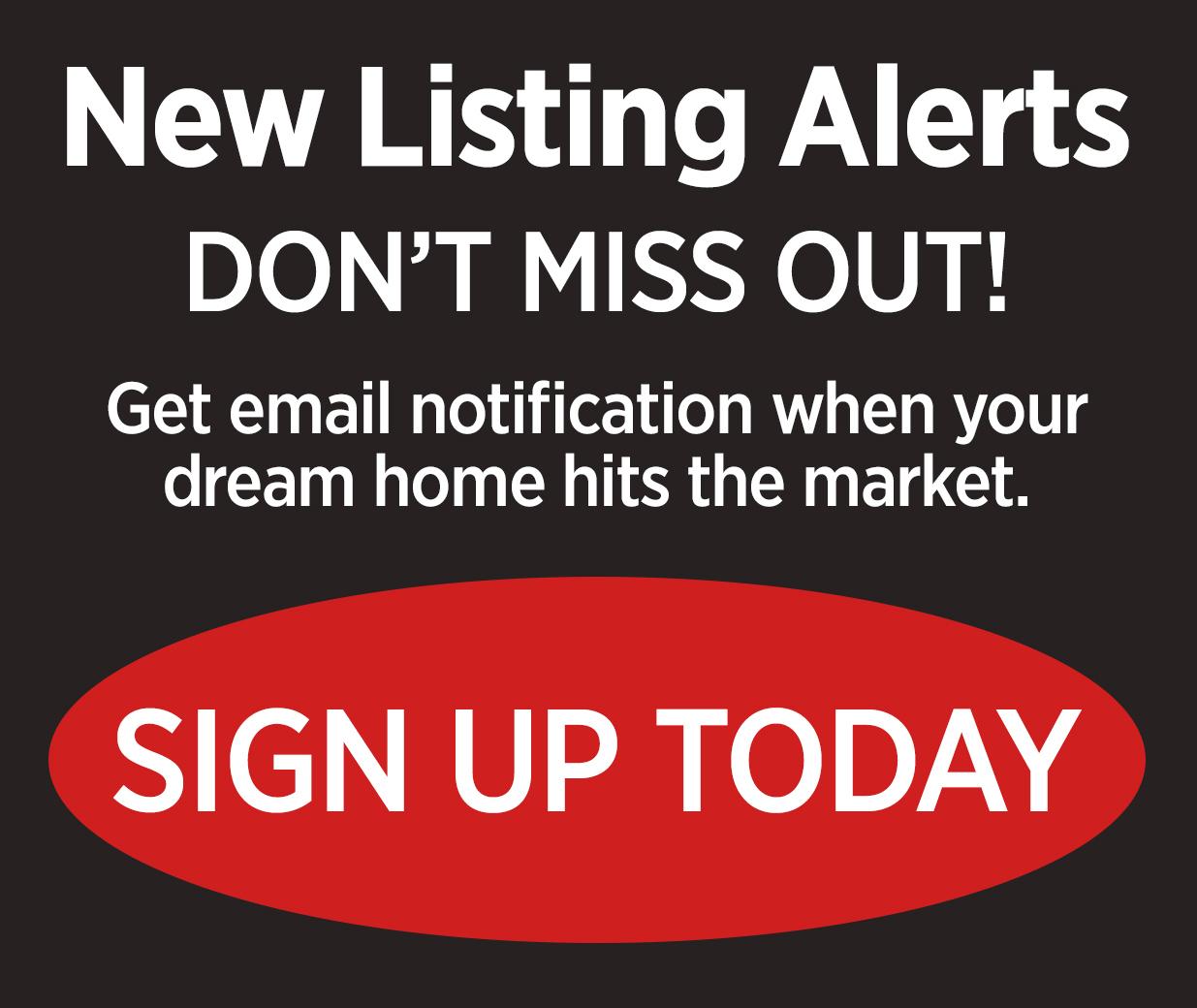 Sign Up for listing alerts OnlyClovisHomes.com
