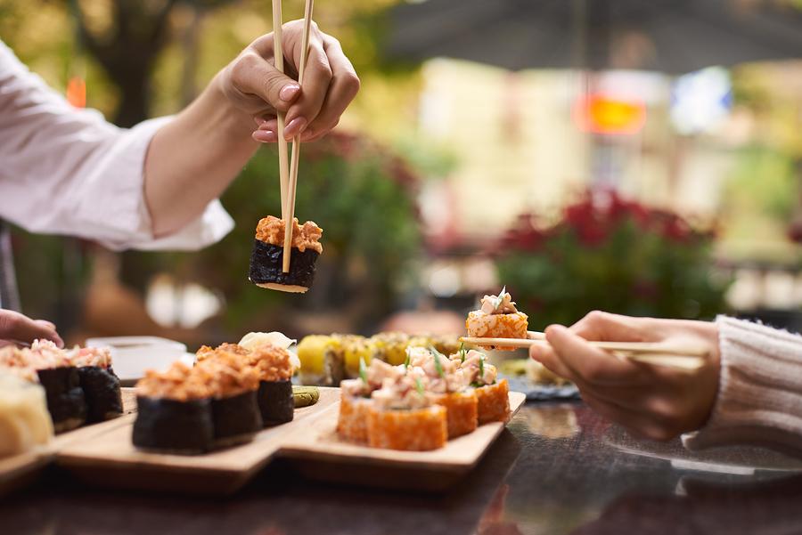 Eat sushi near your Newport Beach home.