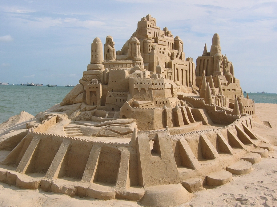 Everyone from Newport Coast homes goes to the Sandcastle Contest.