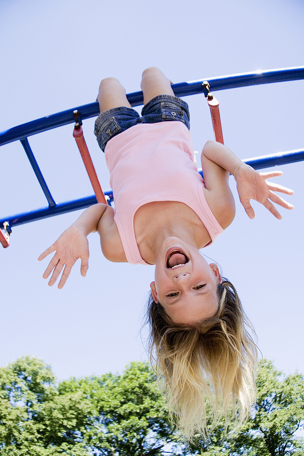 Kids from Newport Beach homes have a blast at the park.