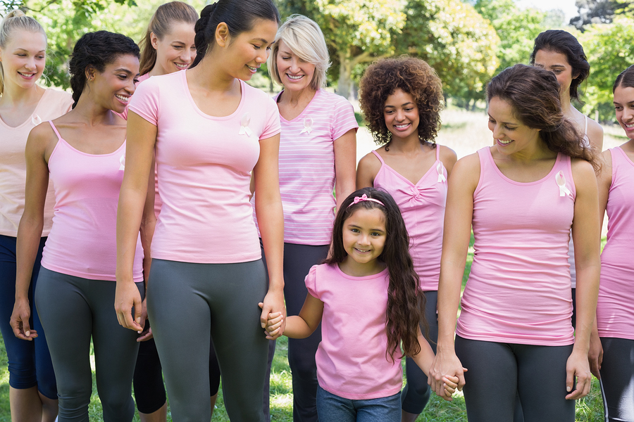 Newport Beach real estate owners go to the More Than Pink walk
