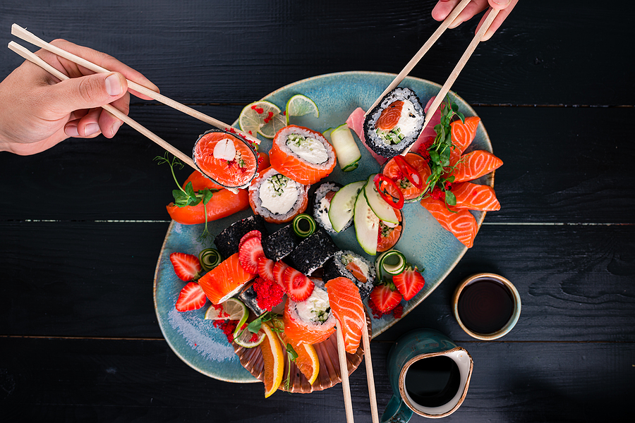 People living in coastal Orange County love Sushi Roku.