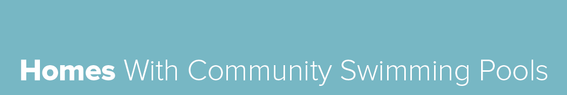 Homes with community pools button