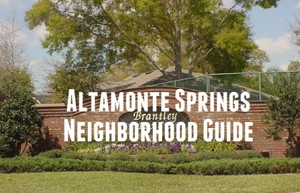 Altamonte Springs Neighborhood Guide