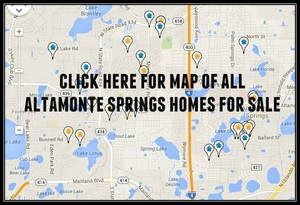 Map of Altamonte Springs homes for sale