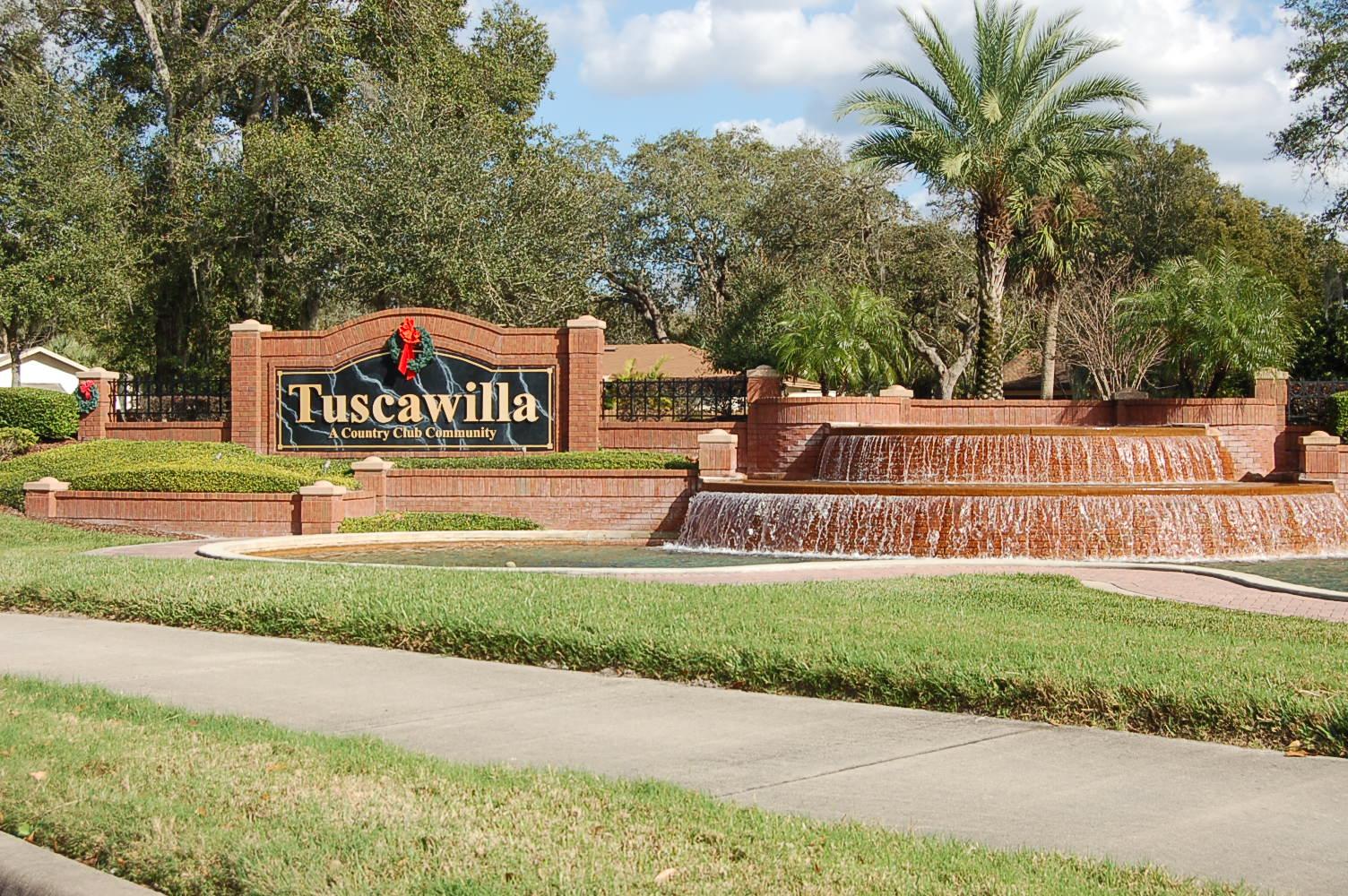 Tuscawilla Entrance