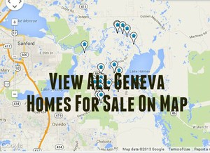Geneva Homes For Sale Map