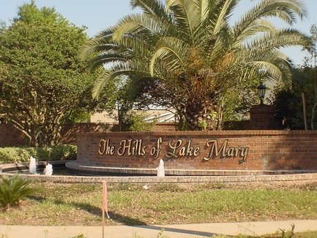 Hills of Lake Mary