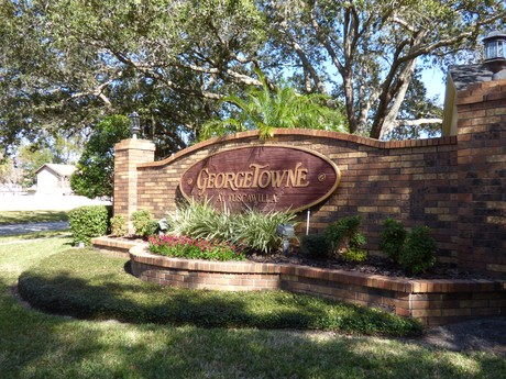 Georgetowne Entrance