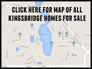 Map of Kingsbridge Homes For Sale