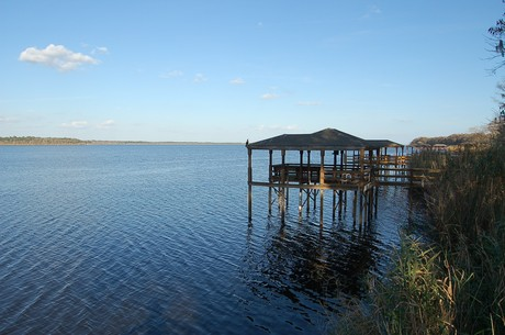 Lake Jesup in Winter Springs