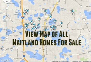 Map of Maitland Homes For Sale