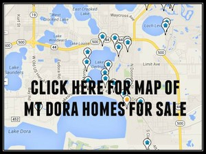Map Of Mount Dora Homes For Sale