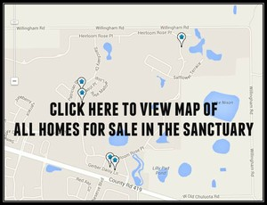 Map of Homes For Sale In The Sanctuary