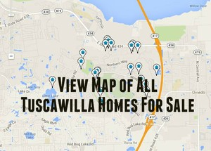 Map of Tuscawilla Homes For Sale