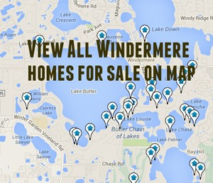Windermere Home Search Map