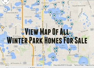 Winter Park Homes For Sale Map