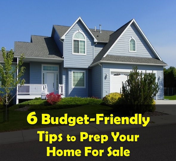6 budget friendly tips to prep your home for sale