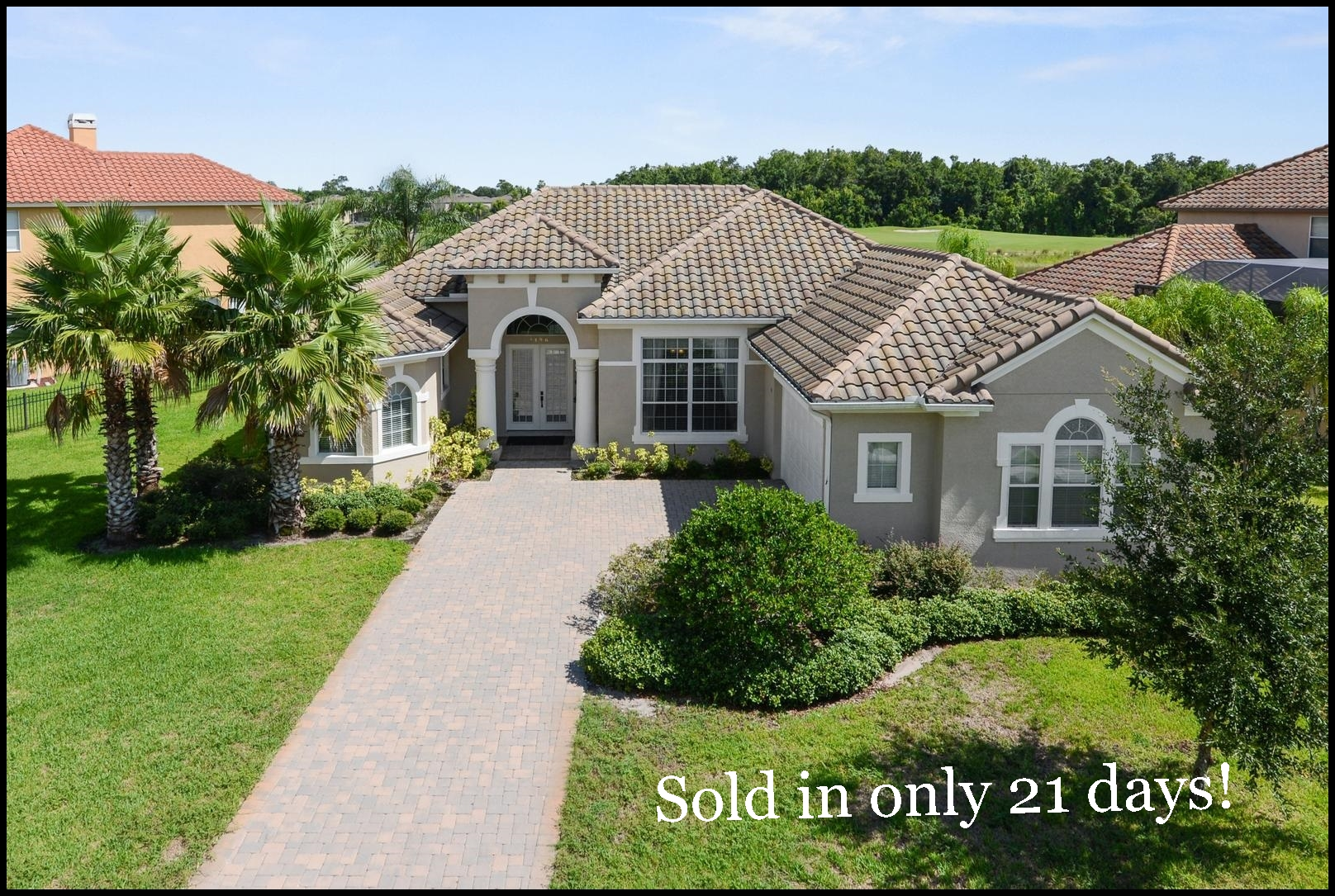 Home Sold in Providence golf community Davenport FL