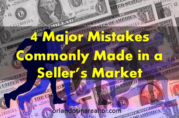 4 Homebuyer mistakes in a sellers market