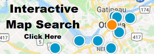 Search Map for Ottawa Homes For Sale