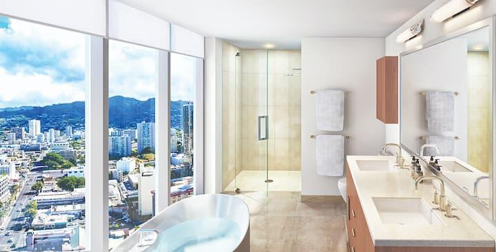 Azure Ala Moana bathroom