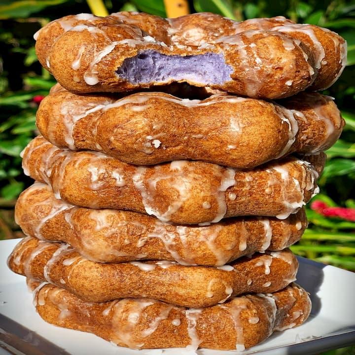 Kalihi_Poi Donuts at Liliha Bakery
