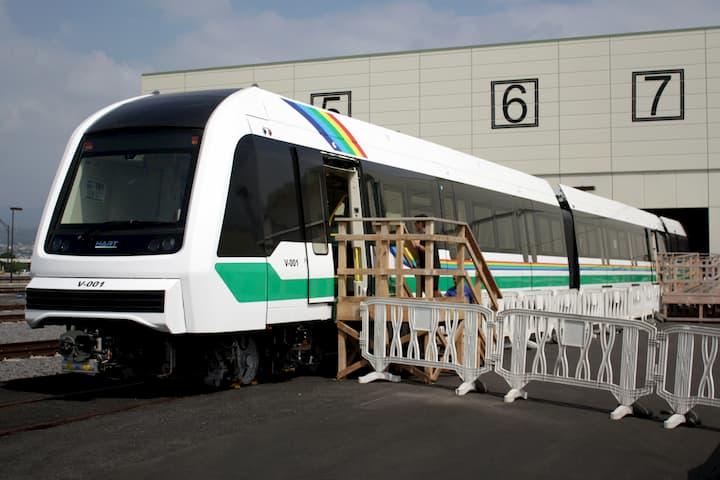 Honolulu Rail Project: First Train set