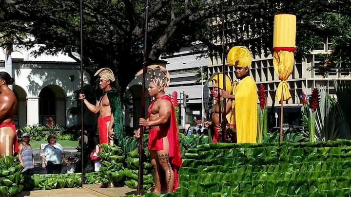 King Kamehameha Celebration Floral Parade
