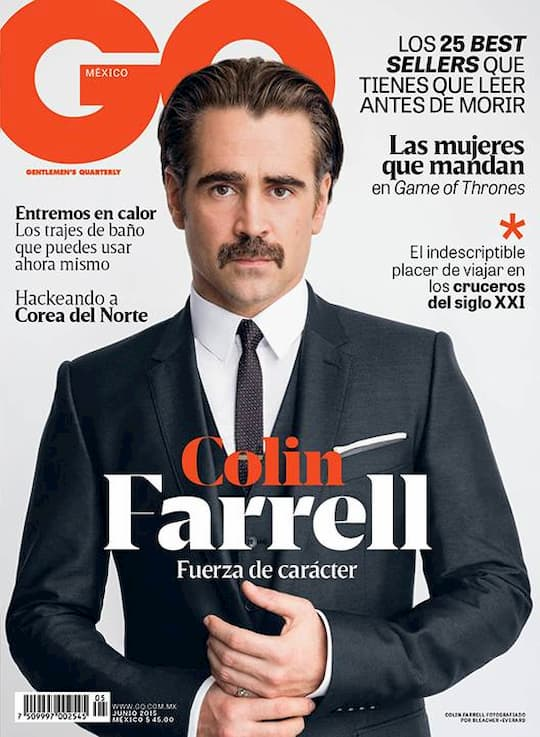 Colin Farrell for GQ Mexico