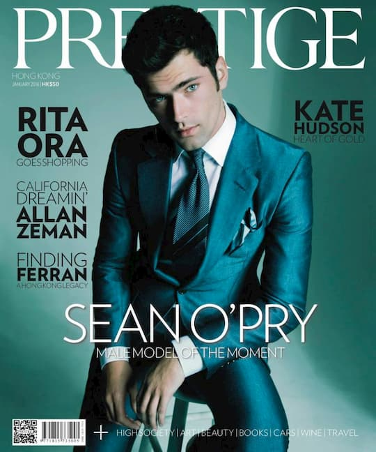 Sean O'Pry for Prestige HK