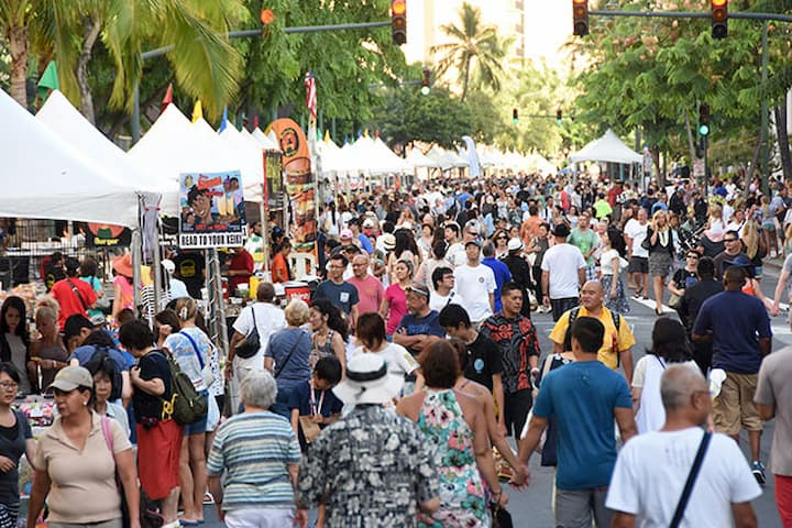 The Annual Waikiki Ho'olaule'a